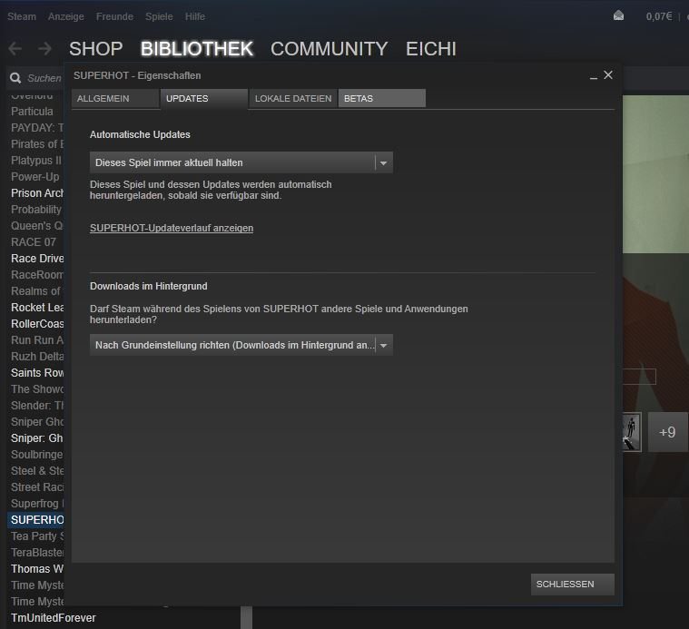 Auto-Update in Steam
