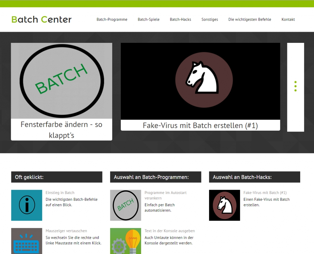 Batch-Center: Batch online lernen