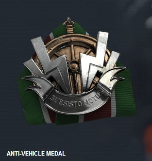 Battlefield 4: Anti Vehicle Medal
