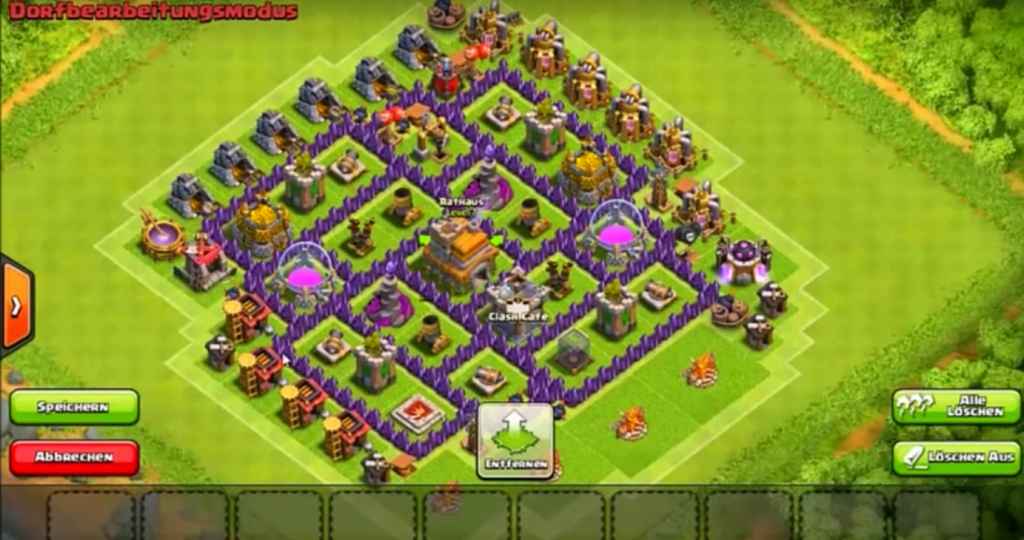 Clash of Clans: Clankrieg Level 7