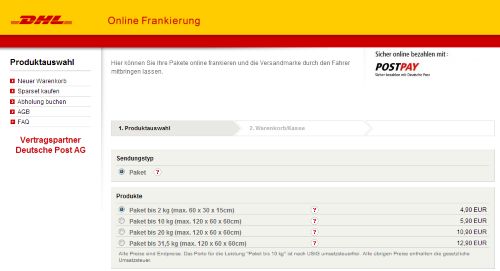dhl paket filiale preise tracking support. Black Bedroom Furniture Sets. Home Design Ideas