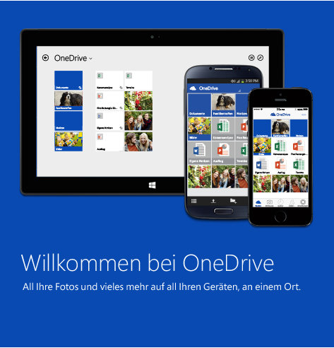 Dropbox-Alternative OneDrive