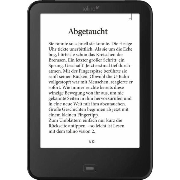 eBook Reader in Bus und Bahn