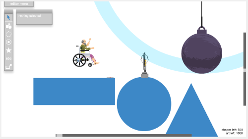 happy wheels steuerung
