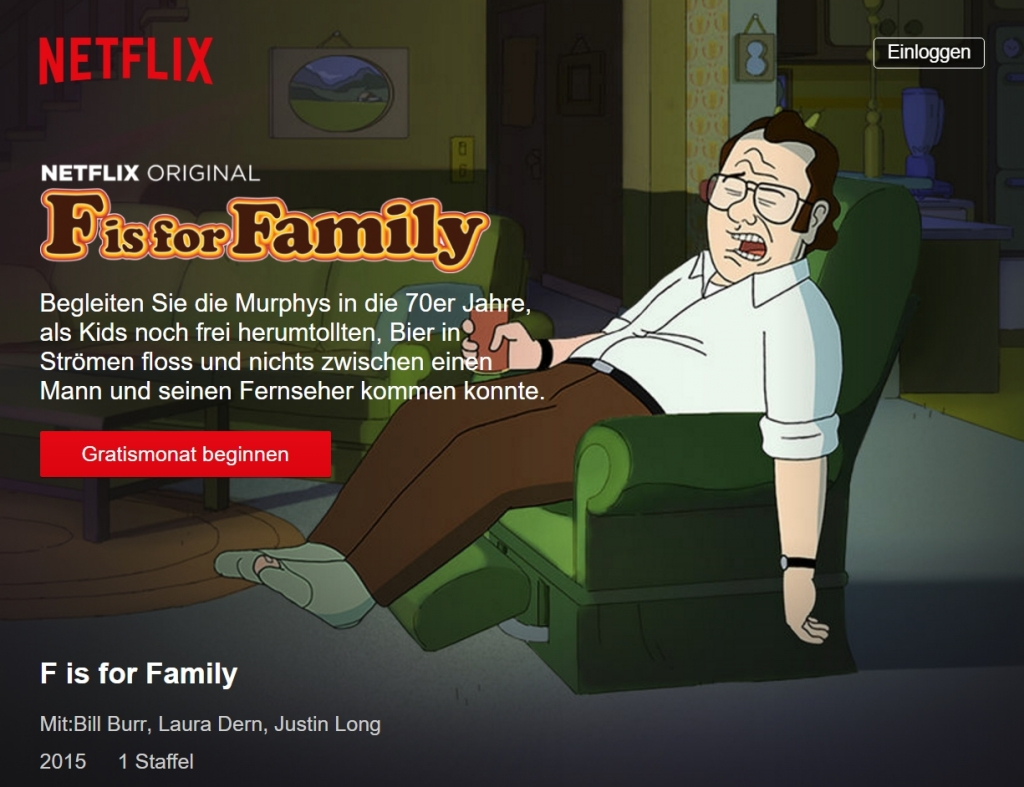 F is for Family bei Netflix