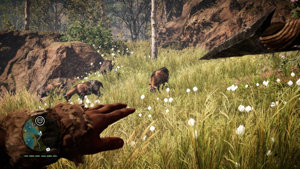 Far Cry Primal: Jagd mit dem Speer