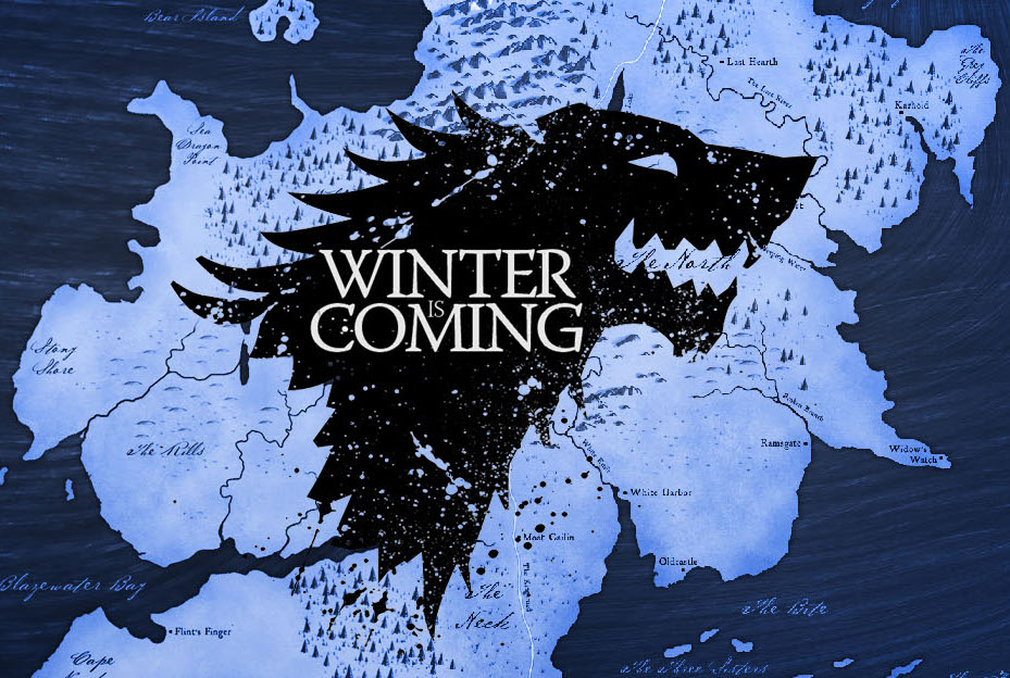der winter kommt game of thrones