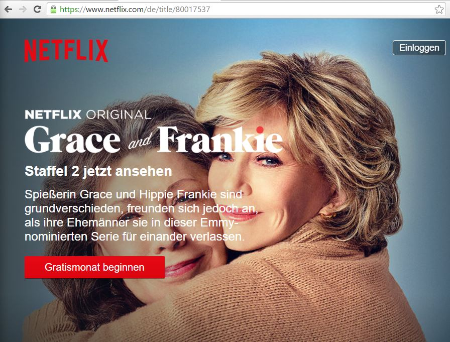 Grace and Frankie legal streamen