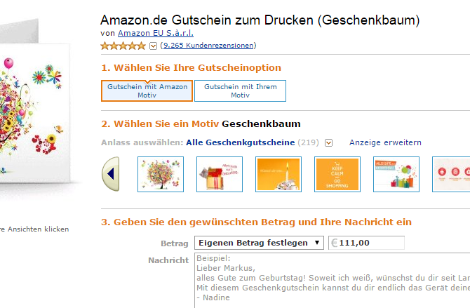 amazon gutscheine kaufen hier geht s chip. Black Bedroom Furniture Sets. Home Design Ideas
