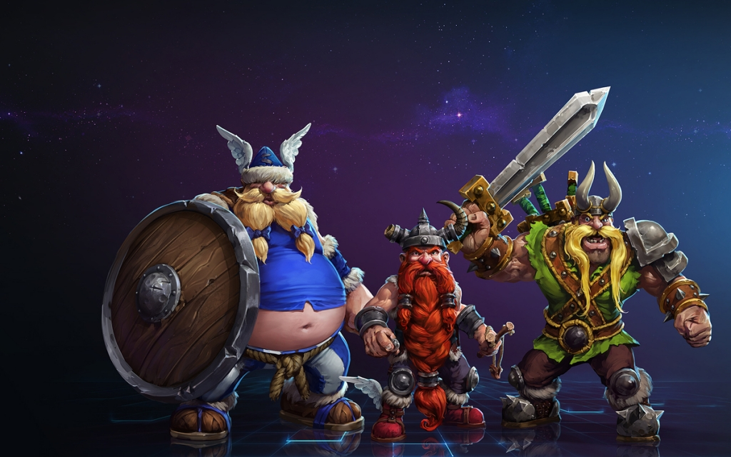Heroes of the Storm - Lost Vikings