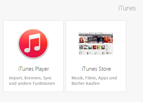 itunes support kontaktieren