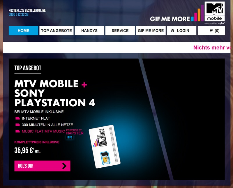 mtv mobile login funktioniert nicht was tun chip. Black Bedroom Furniture Sets. Home Design Ideas