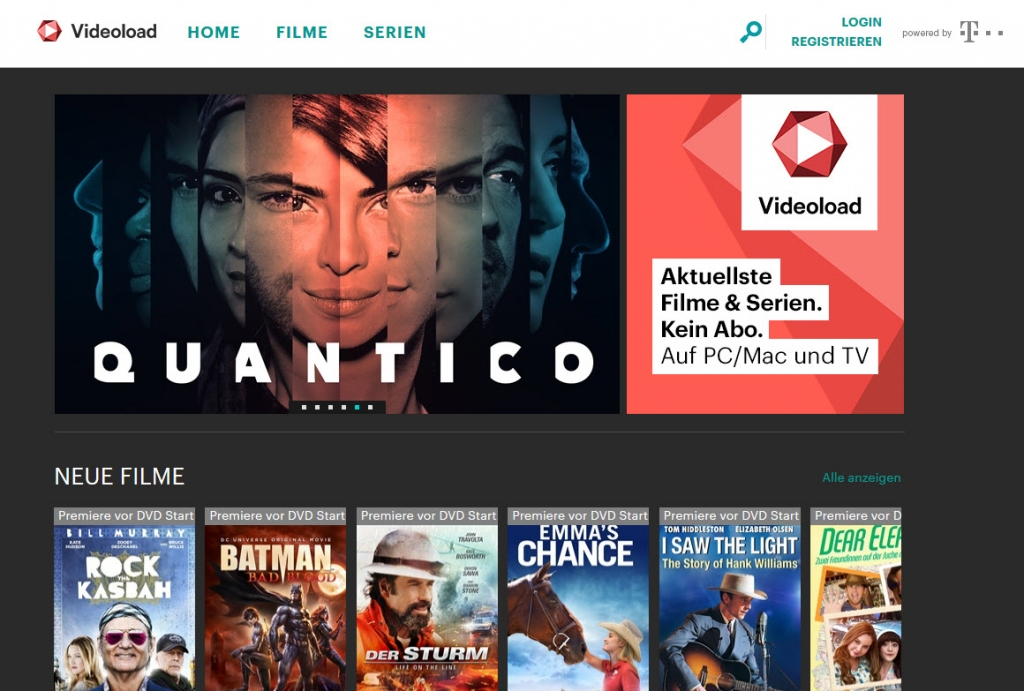 Netflix-Alternative Videoload