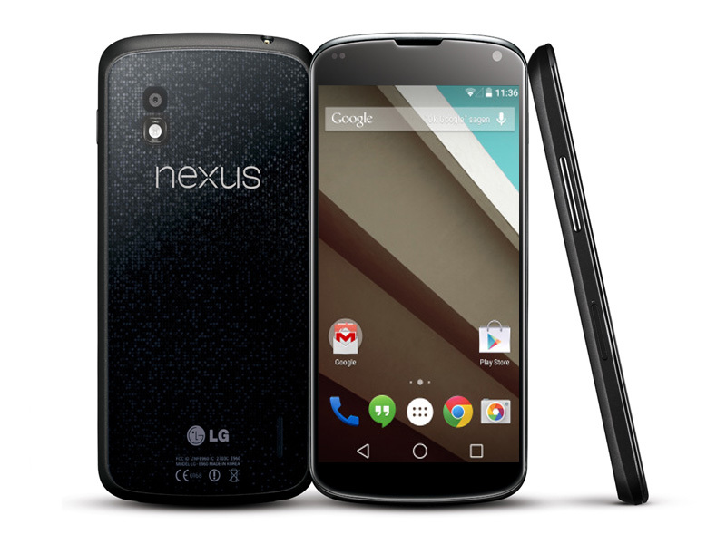 Nexus 4: Werkseinstellungen laden