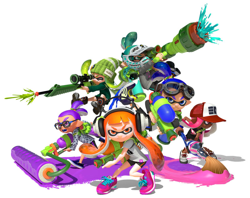 Nintendo-Shooter Splatoon