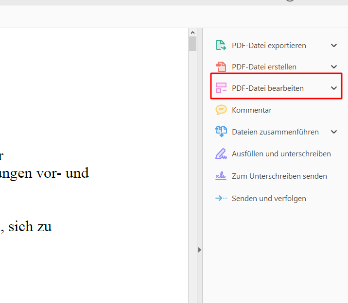 OCR mit Adobe Reader
