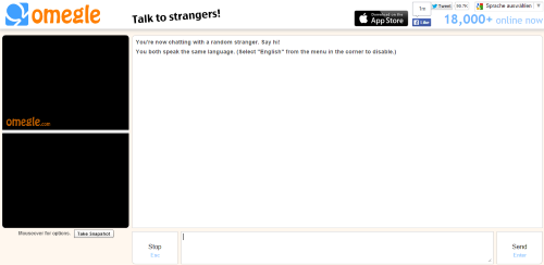 omegle text alternatives