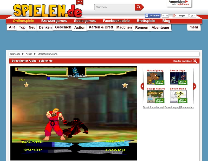street fighter online spielen
