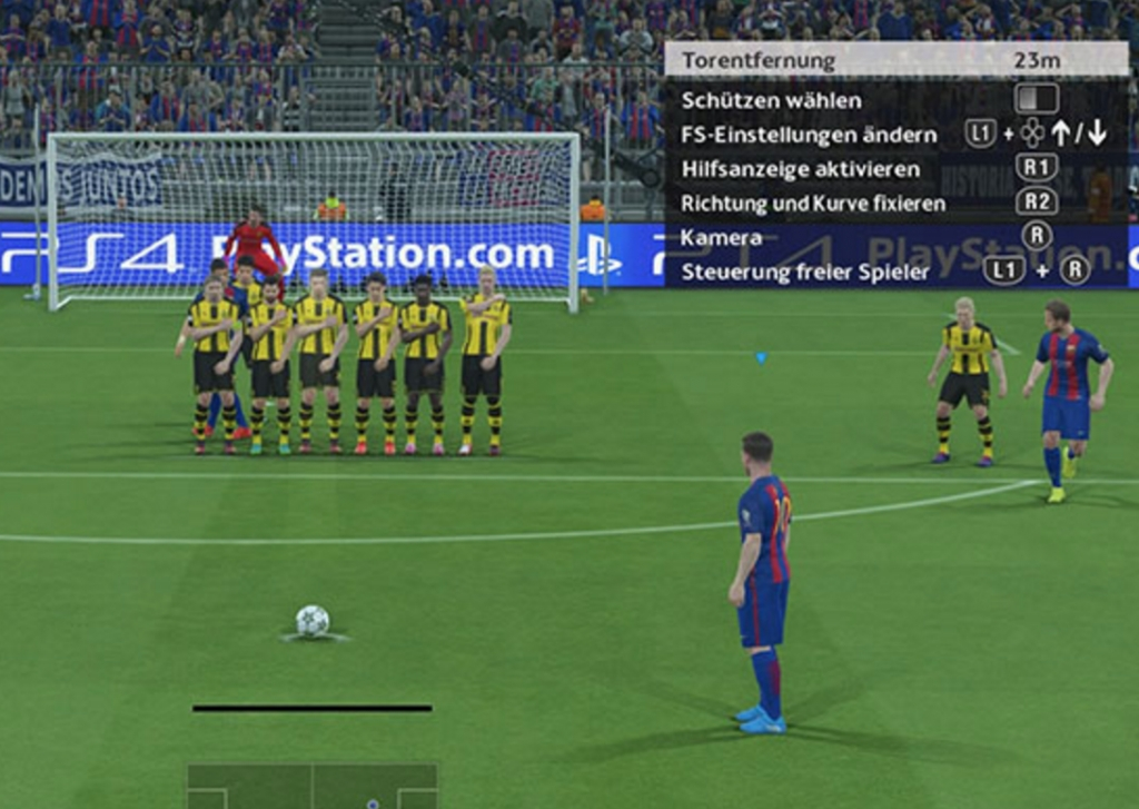 """PES 2017: """"Schnibbelball"""" mit Messi"""
