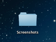 Screenshots im Ordner