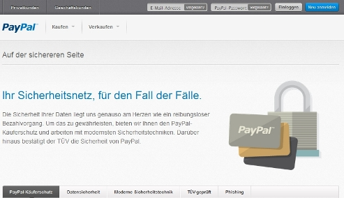kostet paypal was