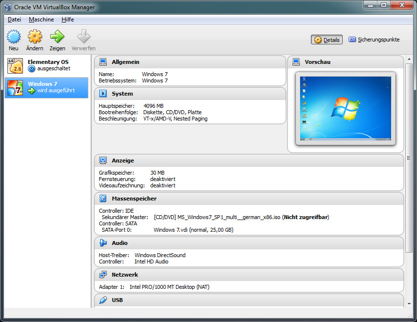 VirtualBox: TAP-Windows Adapter V9
