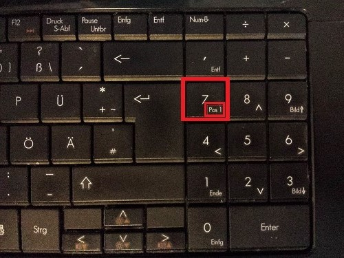 how to use the home key on a laptop