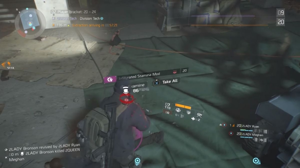 The Division: Crafting-Materialien
