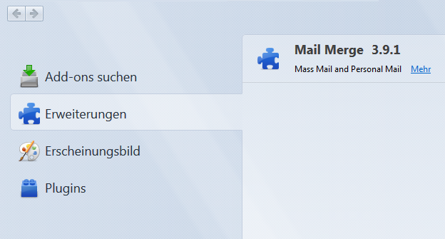 how to send mail merge email thunderbird