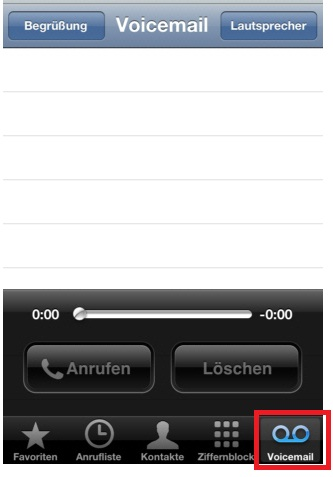 how to turn voicemail on vodafone iphone