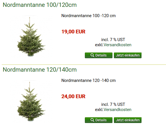 weihnachtsbaum online bestellen so geht s chip. Black Bedroom Furniture Sets. Home Design Ideas