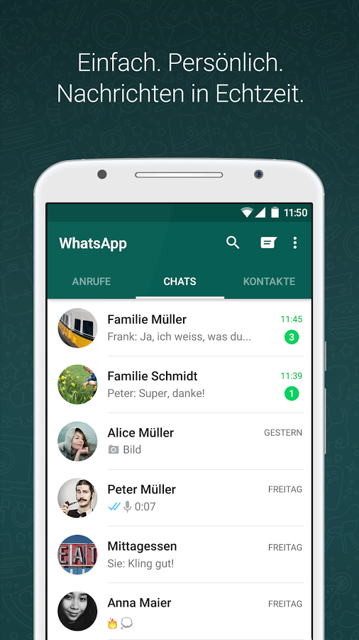 WhatsApp in der Apotheke