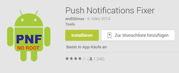 WhatsApp: Push Notifications Fixer