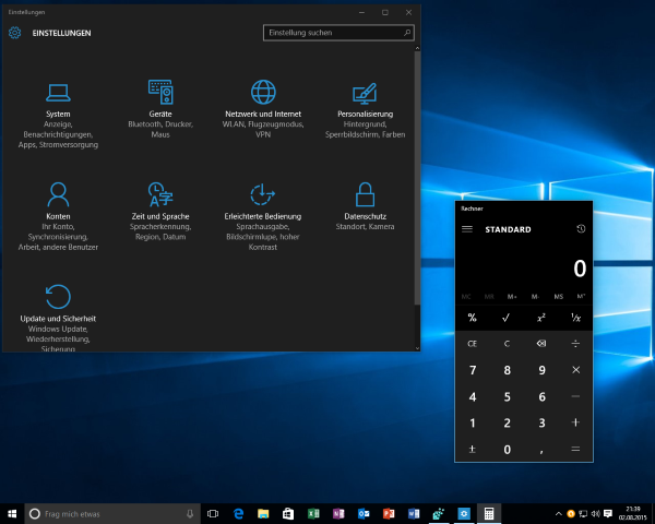 how to choose custom color for desktop theme windows 10