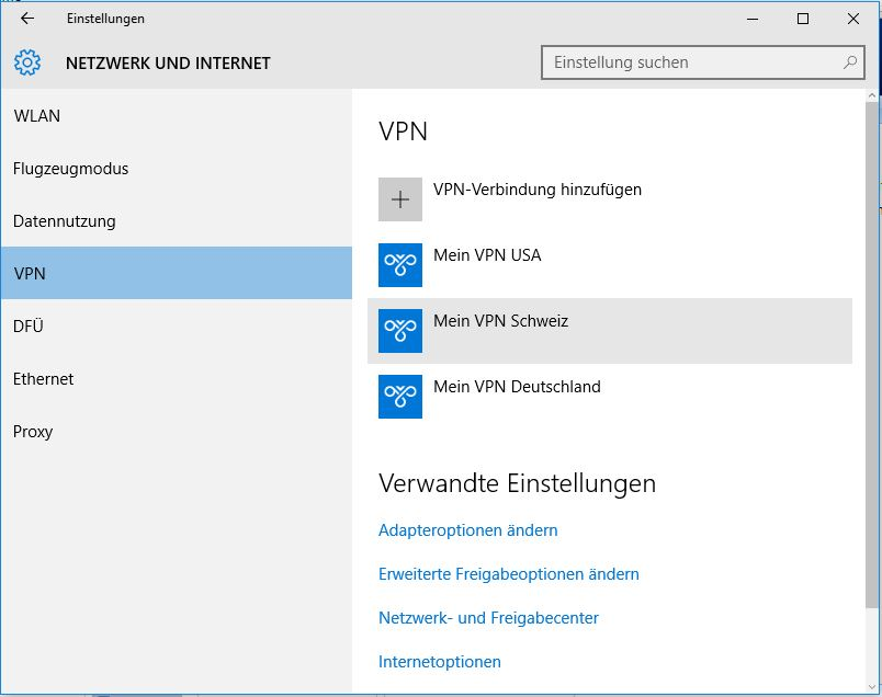 how to create a vpn windows 10
