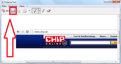 Windows Snipping Tool