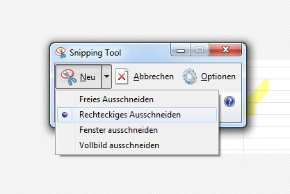 Windows - Snipping Tool