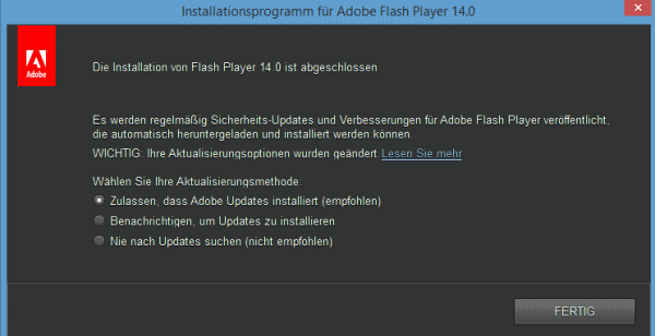 adobe flash installieren