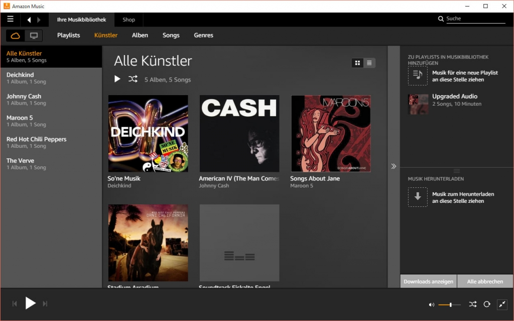 amazon prime music online hören