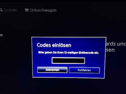 ps4 gutschein code im playstation store einl sen chip. Black Bedroom Furniture Sets. Home Design Ideas