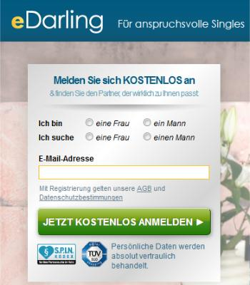 Edarling Partnersuche