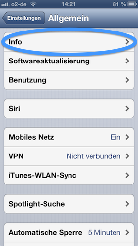 Seriennummer Finden Iphone 5