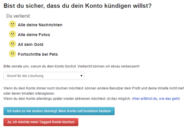 business konto amazon löschen