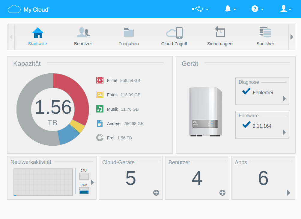 Wd My Cloud Dashboard Download